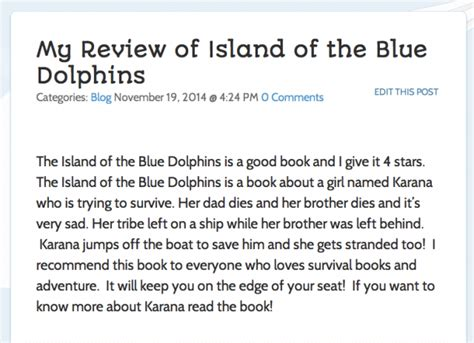 Island Of The Blue Dolphins Essay by Essay Questions Island Of The Blue Dolphins