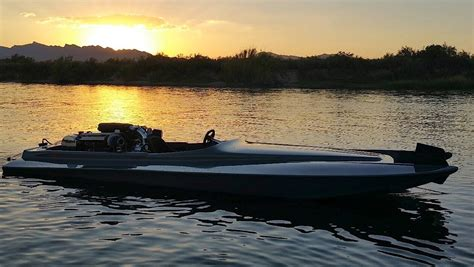 v8 fan boat twin turbocharged 5 0 liter coyote v8 powered jet boat