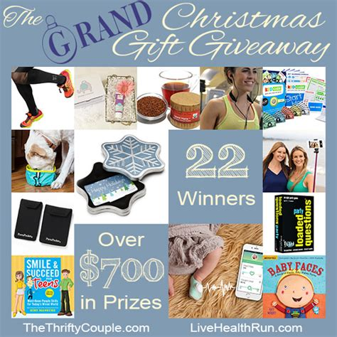 Christmas Gift Giveaway - we re giving away 700 in christmas gifts this year 22 winners enter through 12 1 15