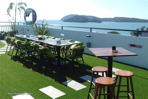Best Roof Top Bars In by Nest Rooftop Caf 233 Langkawi Rooftop Restaurant At Pantai