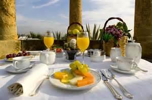 Breakfast Table Grand Hotel Villa Igiea Breakfast Table