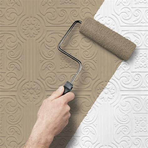 7 best images about paintable wallpaper backsplash on textured paintable wallpaper