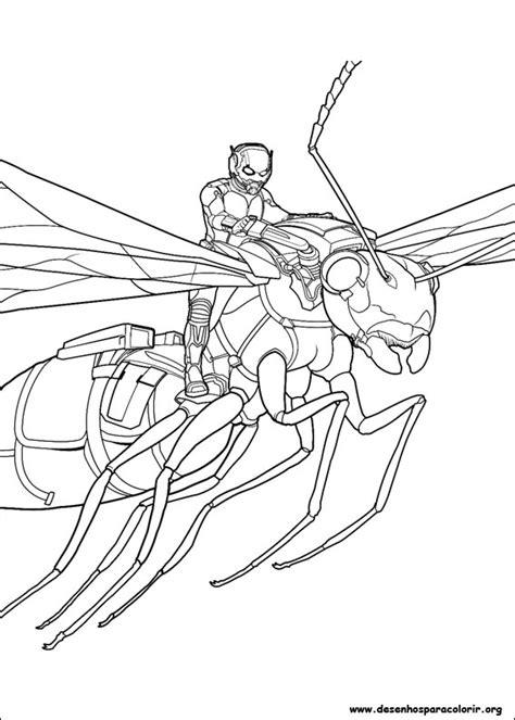 lego ant man coloring pages homem formiga para colorir