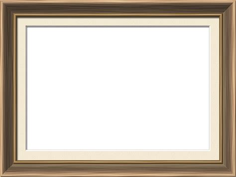 Traditional House Presentation Photo Frames Wide Traditional Rectangle