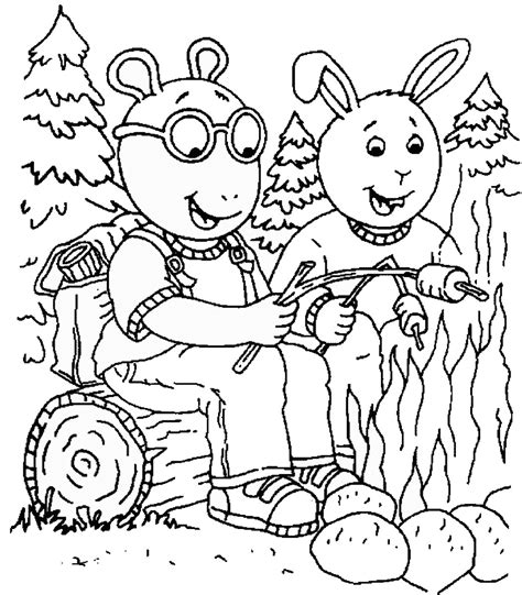 coloring page arthur arthur coloring pages to download and print for free