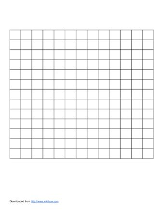 crossword puzzle template free how to make crossword puzzles 15 steps with pictures