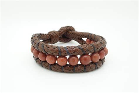 Handcrafted Leather Bracelets - handmade leather and bracelets 8 quot