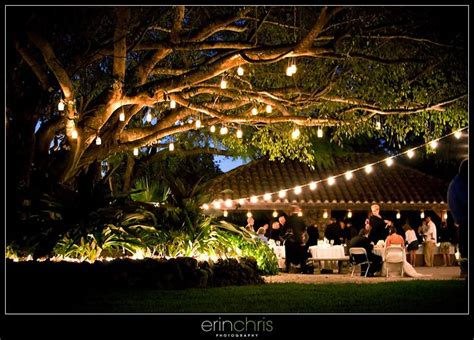 candles hanging from trees ri summer wedding pinterest