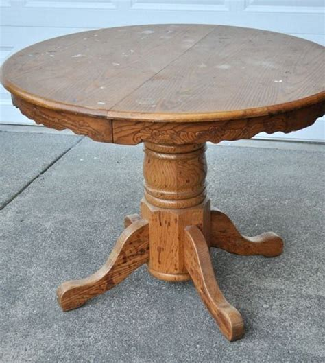 Refinish Wood Dining Table Table Before 2 Home Refinish Wood Tables Tables And Step By Step Guide