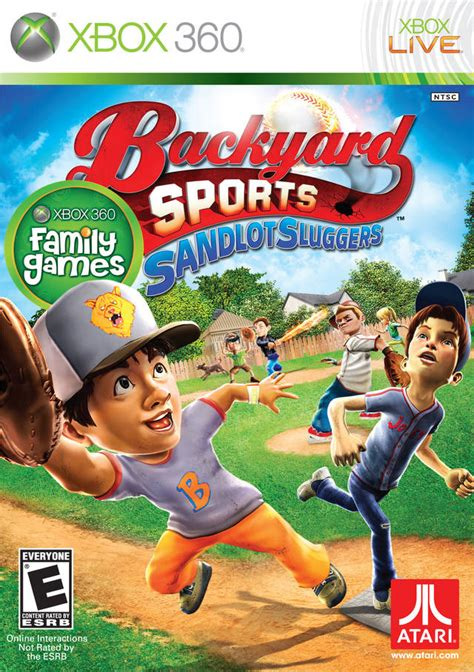 backyard baseball xbox 360 backyard sports sandlot sluggers xbox 360 game