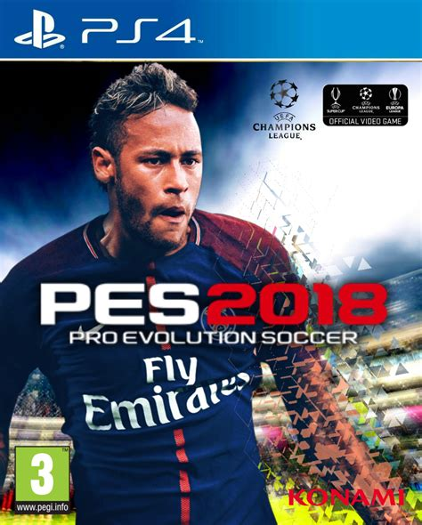 Bluray Ps4 Pes 2018 portadas alternativas pes 2018 pes 2018