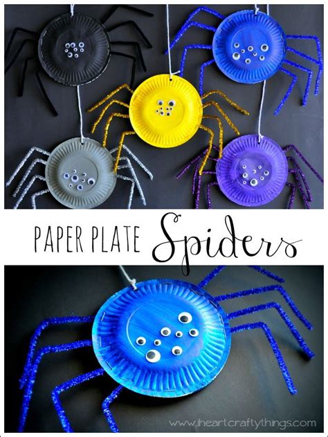 Paper Plate Spider Craft - 30 great crafts artzycreations