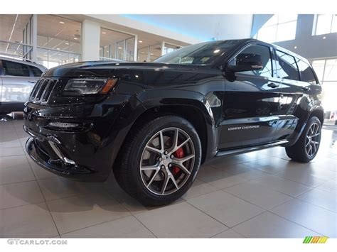 2016 jeep grand black 2016 brilliant black pearl jeep grand srt