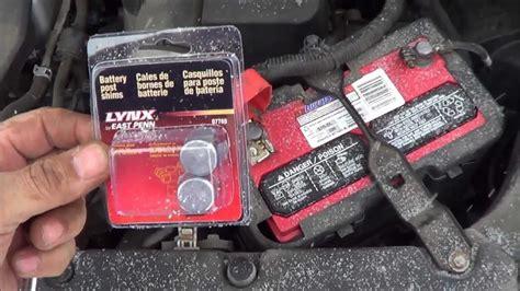 battery terminal terminal   tighten