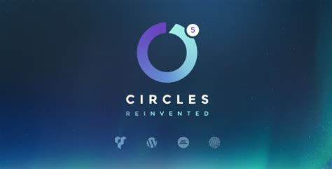 Circles Responsive Menu responsive multipurpose theme circles by themesmack themeforest