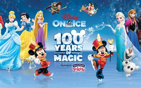 Family Disney On Ice100 Years Of Magic by Disney On Presents 100 Years Of Magic Hton Coliseum