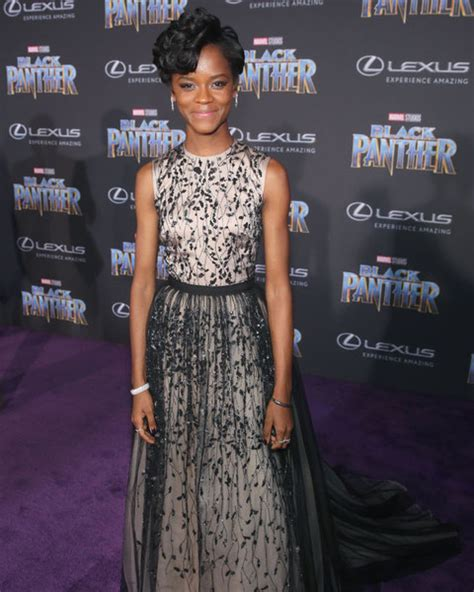letitia wright zimbio letitia wright the stars of black panther in and out