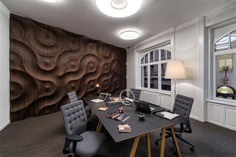 Handcrafted, 3D Wooden Wall Coverings   Design Milk