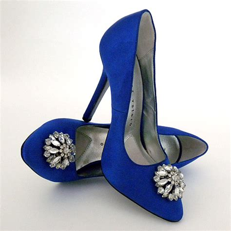 Blue Bridal Shoes by Blue Bridal Shoes Wedding Shoes