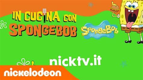 spongebob in cucina in cucina con spongebob nickelodeon italia