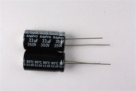 electrolytic capacitor memory effect 350mv33hpc