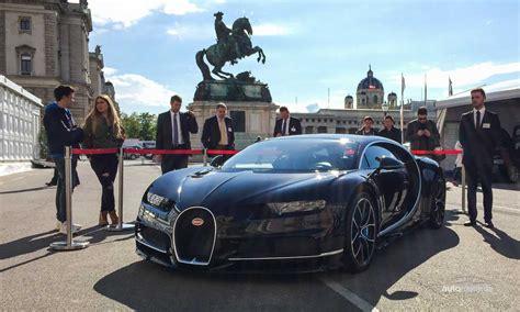 Bugatti De Auto by Der Bugatti Chiron Kam Zum Ersten Mal Nach Wien