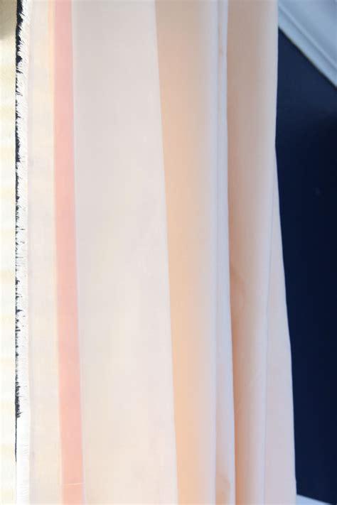 peach curtains drapes one room challenge peach curtains windgate lane