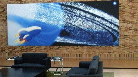 Pixar Office Lounge And Wall Of Art Interior Design Ideas | pixar office lounge and wall of art interior design ideas
