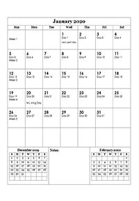 printable  julian date calendar calendarlabs