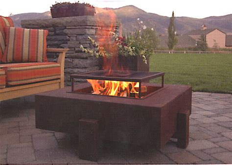 Steel Firepit Steel Pit By Ore Open Room Furniture