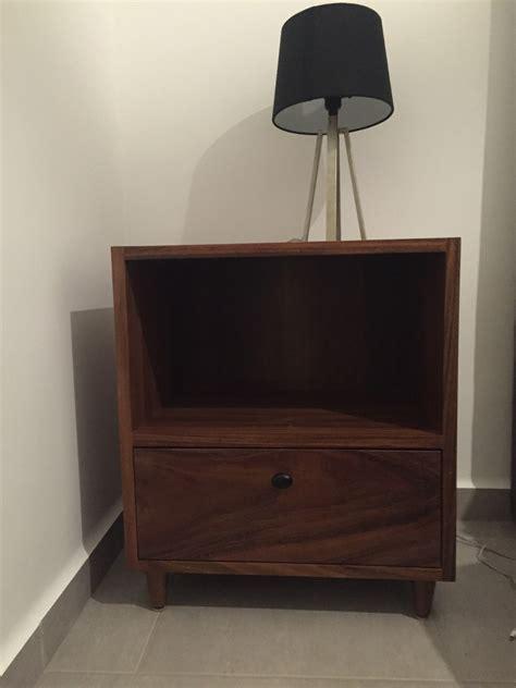 recamara de madera de parota modernos bur 243 s y comoda