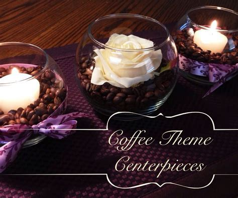 Great idea for my My coffee theme centerpieces.   Home