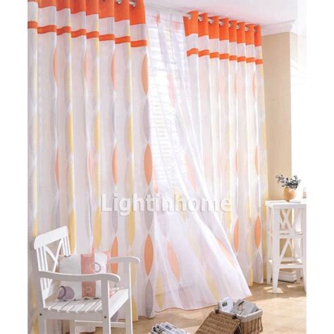 curtains with orange 25 best ideas about orange bedroom curtains on pinterest