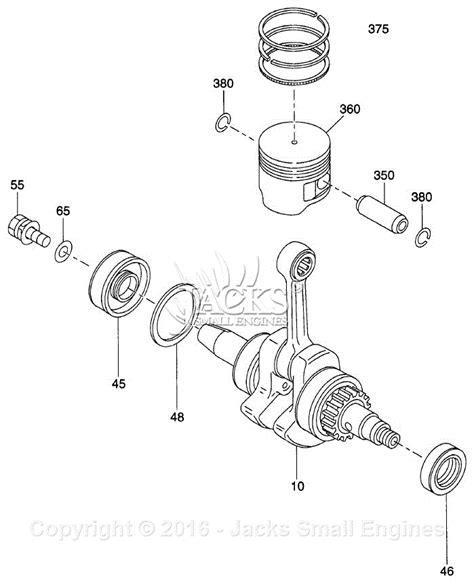 crankshaft parts diagram robin subaru eh025 parts diagram for crankshaft parts