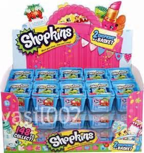 shopkins season 1 set of 5 baskets sealed