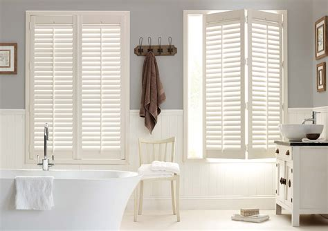 bathroom shutter blinds how to create a scandi style room with wooden shutters