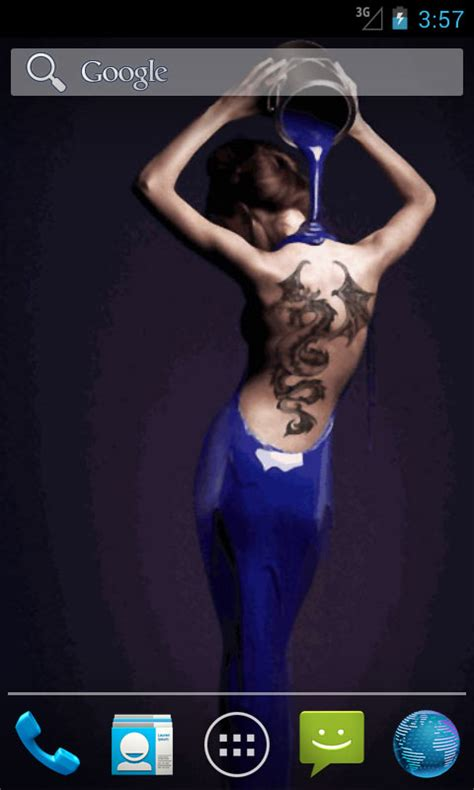 Tattoo Girl App | ink tattooed girl live wallpapers free android app