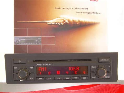 Audi Concert 2 by Autoradio D Origine Audi Concert 2 Pour A3 Vends