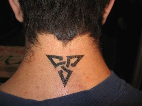 tattoo neck back man 24 excellent small neck tattoos for guys styleoholic
