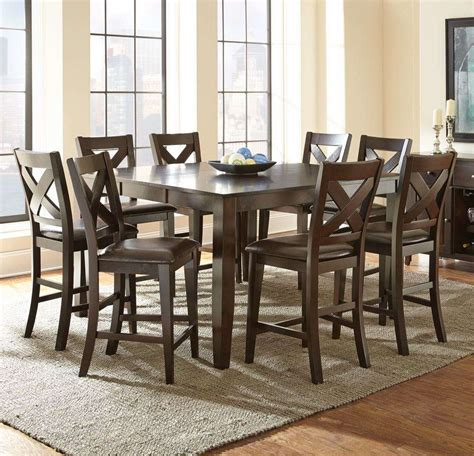 counter height dining room set counter height dining room sets dining room sets glass