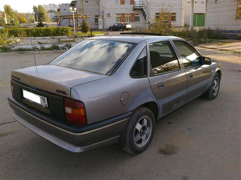 1990 Opel Vectra A Pictures Information And Specs