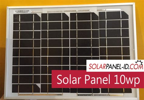 Solar Panel Panel Surya Cell Sseries 10wp 10 Wp 12volt Dc Poly jual solarpanel 10wp distributor panel surya solar panel pju solarpanel id
