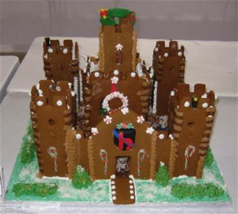 gingerbread castle template gingerbread castle