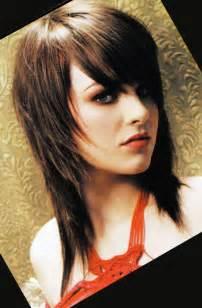 coupe de cheveux mi avec frange effil 233 e