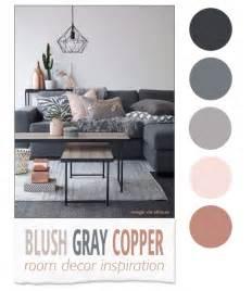 Blush Gray Copper Room Decor Inspiration   Room decor