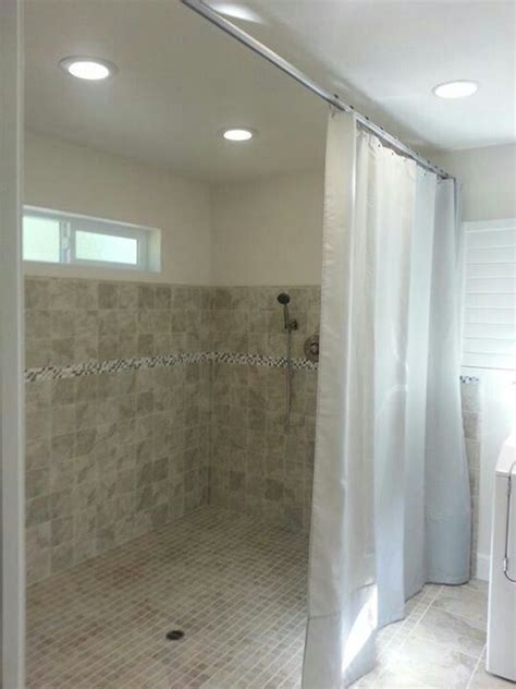 walk in shower with curtain 798 best images about bathroom shower ideas on pinterest
