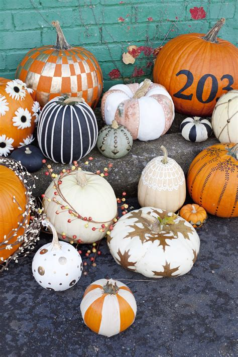 pumpkin ideas for easy no carve pumpkin ideas a beautiful mess