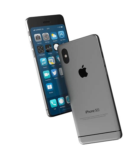 X Iphone 5 iphone 5x concept design combination of iphone x and iphone 5