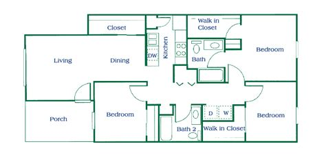 three bedroom floor plans columbus apartments floor plans