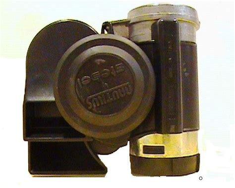 Quality Klakson Stebel Nautilus stebel compact nautilus air horn black